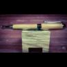 Penna artigianale in legno fatta a mano. Roller con cappuccio mod Lucky in legno di Lentisco pugliese.