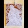 Piastra con Madonna che allatta 35x25 Cod 53/b