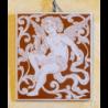 Piastra rettangolo Angelo cm 18x20 Cod 13