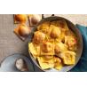 Tortelli di Zucca caserecci 0.5 Kg . (prodotto riservato ai residenti nel comune di Viadana MN e limitrofi) e