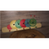 Appendi panni in legno Bruco