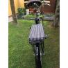 Cuscino artigianale per bicicletta Pier Pied De Poule