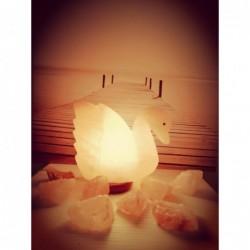 lampada di sale Cigno
