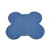 Cuscino Osso Piccolo cm 57x66 interno Spugna Blu