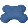 Cuscino Osso Medio cm 83x67 interno Ovatta Blu