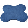 Cuscino Osso Medio cm 83x67 interno Spugna Blu