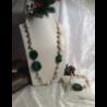 Collana composta da perle di fiume barocche natural