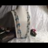 Collana composta da tre fili di perle di fiume naturali ÒcipollinaÓ