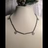 Collana composta da 1 filo di spinello nero