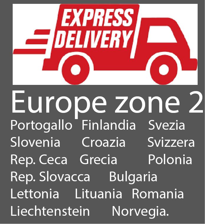 Spedizioni in Europa zone 2