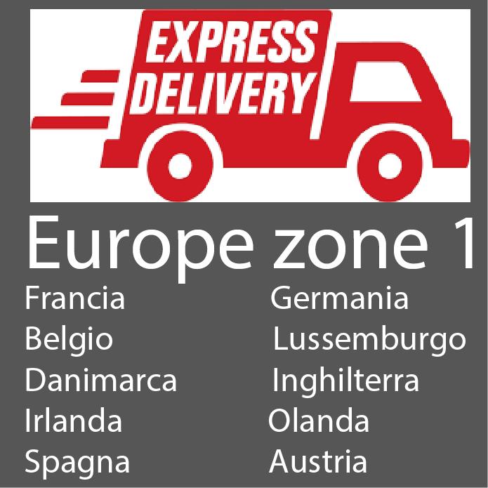 Spedizioni in Europa zone 1